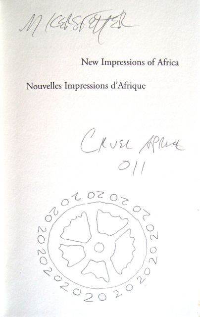 Title page of New Impressions of Africa by Raymond Roussel