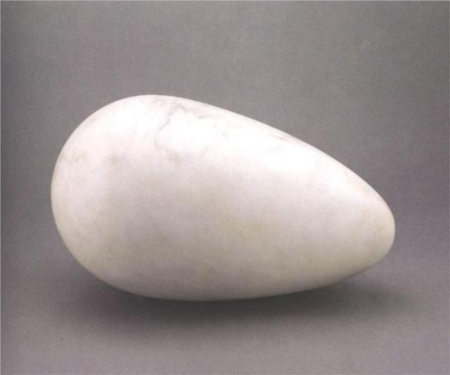 Constantin Brancusi, Sculpture for the Blind (Beginning of the World), marble, 1916, source: WikiPaintings