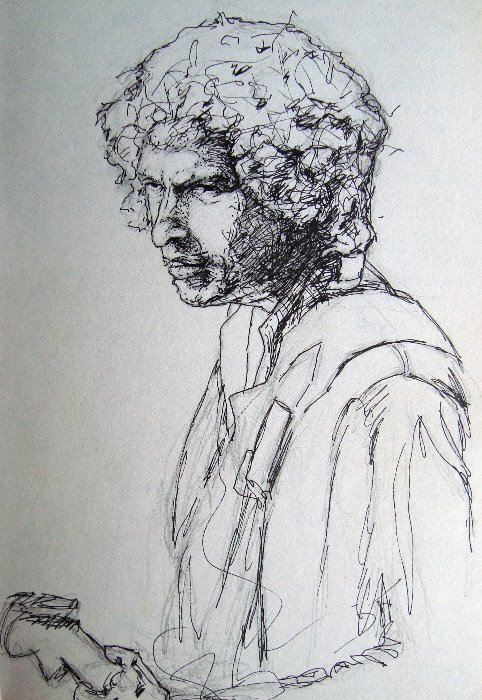 Dylan sketch, Mark Kerstetter