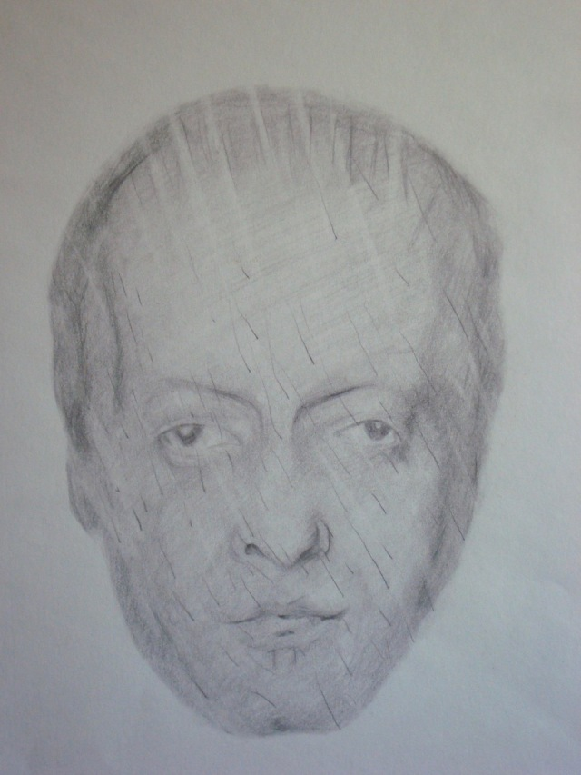 Bob, sketch by Mark Kerstetter