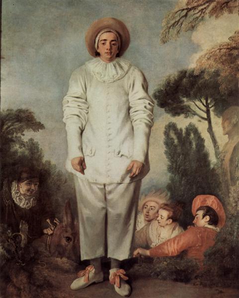 Antoine Watteau, Gilles (source: WikiArt)